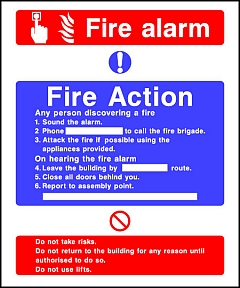 Fire Action Alarm
