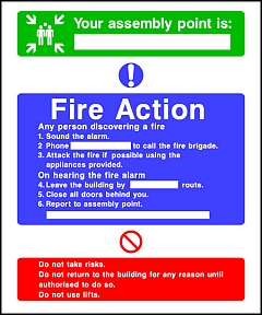 Fire Action Assembly