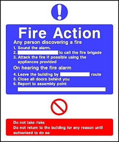 Fire Action Any Person