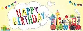 Childrens Birthday Banner