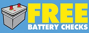 FREE Battery Check Banners