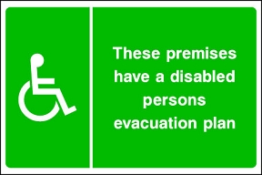 Disabled Evacuation Plan