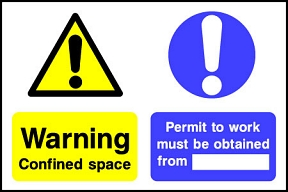 Confined Space Work Permit