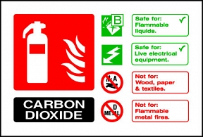 Carbon Dioxide Extinguisher For