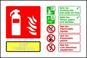 Wet Chemical Extinguisher For