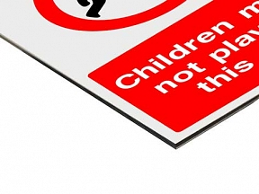 Dibond Safety Signs