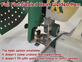Heat Welded Hem