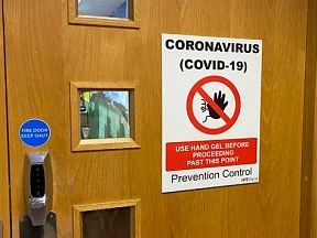 Infection Control Signs