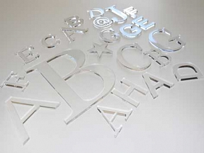 Acrylic Cut Letters