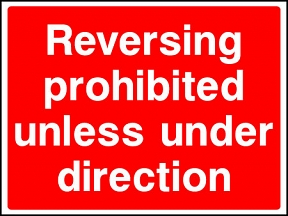 Reversing Prohibited Signs