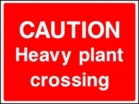 Plant Crossing Signs