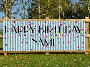Birthday [Name] Banner