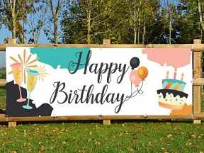 Happy Birthday - Party Banners
