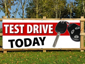 Test Drive Today Banners
