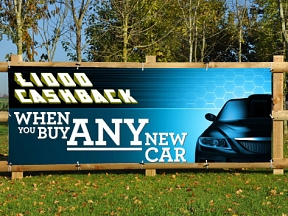 New Car Cashback Banner