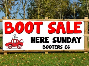 Carboot Sale Banners