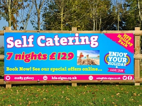 Self Catering Holiday Banners