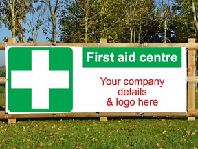First Aid Banners