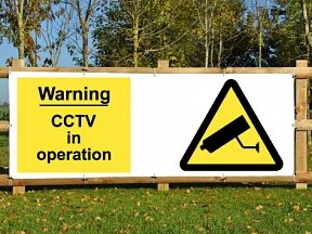 CCTV Warning Banners