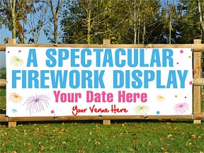 Fireworks Display Banners
