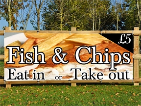 Fish & Chips Banners