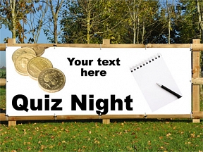 Quiz Night Banners