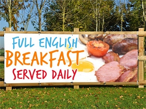 All Day Breakfast Banners