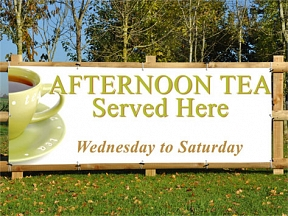 Afternoon Tea Banners