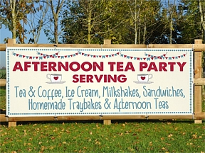 Afternoon Tea Party Banners