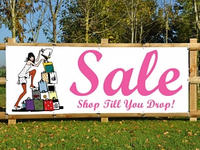 Shop Sale Banners