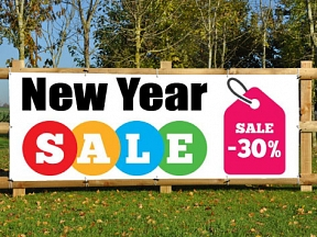 New Year Sales Banners