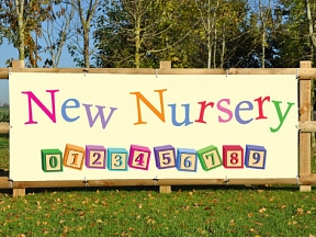 New Nursery Banners