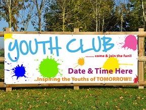 Youth Club Banner