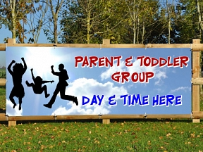 Parent Toddler Group Banners
