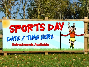 Sports Day Banners