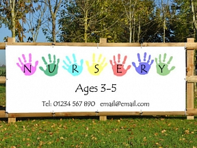 Nursery Places Banners