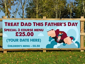 Fathers Day Meal Deal Banners