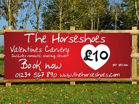 Valentines Carvery Banners