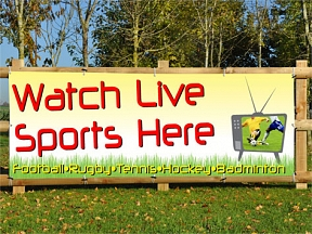 Watch Live Sports Banners