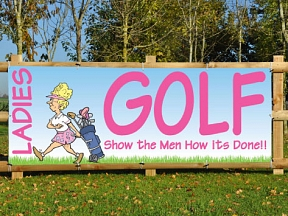 Ladies Golf Banners