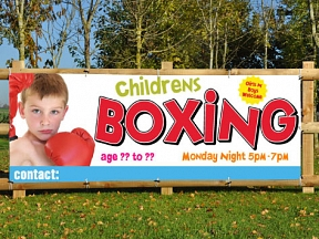 Junior Boxing Banners