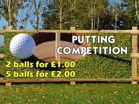 Putting Competition Banners