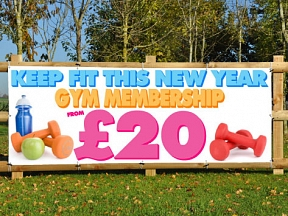 Keep Fit Banners
