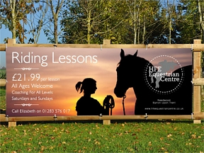 Horse Riding Banners