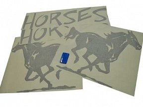 Horse Trailer Stickers