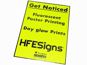 Day Glow Poster Printing