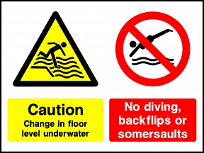 Floor Level No Diving