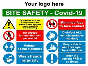 Covid Site Safety Sign