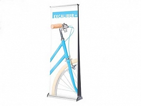 Excaliber Roll up Banners