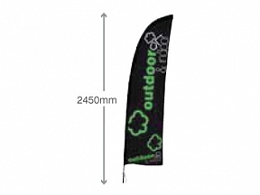 Feather Flag 2.8m Pole